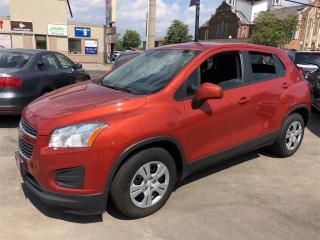 Used 2015 Chevrolet Trax LS| POWER LOCKS/WINDOWS| LOW KMS| TEST DRIVE TODAY for sale in Hamilton, ON