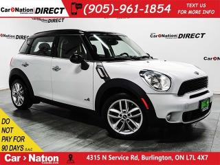 Used 2014 MINI Cooper Countryman Cooper S| AWD| LEATHER| DUAL SUNROOF| for sale in Burlington, ON