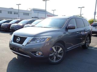 Used 2015 Nissan Pathfinder Platinum 4x4 for sale in Richmond, BC
