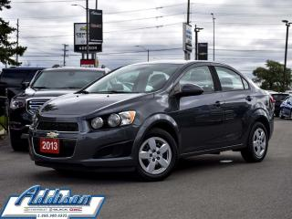 Used 2013 Chevrolet Sonic LS 5 Dr Hatchback  at - Bluetooth for sale in Mississauga, ON