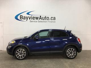 Used 2017 Fiat 500 X Trekking - ALLOYS! REM START! PANOROOF! REVERSE CAM! BLUETOOTH! for sale in Belleville, ON
