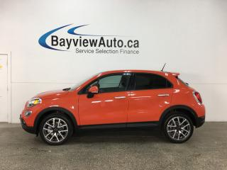 Used 2017 Fiat 500 X Trekking - REM START! PANOROOF! REV CAM! U-CONNECT! CRUISE! for sale in Belleville, ON