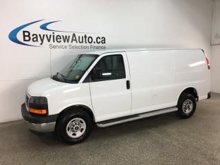 Used 2017 GMC Savana 2500 Work Van - VINYL FLOOR! A/C! PWR GROUP! CRUISE! LOW KM! for sale in Belleville, ON