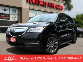 Used 2015 Acura MDX Elite Package Elite, Navigation, DVD, NO Accidents for sale in Toronto, ON