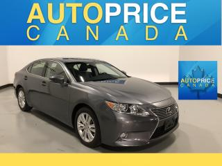 Used 2014 Lexus ES 350 NAVIGATION|REAR CAM|LEATHER for sale in Mississauga, ON