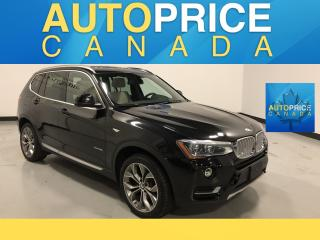 Used 2015 BMW X3 xDrive28i NAVIGATION|PANOROOF|LEATHER for sale in Mississauga, ON