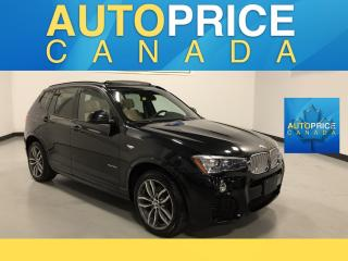 Used 2015 BMW X3 xDrive28i M-SPORT PKG|NAVIGATION|PANOROOF|CLEAN CARPROOF for sale in Mississauga, ON