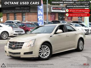 Used 2011 Cadillac CTS 3.0L for sale in Scarborough, ON