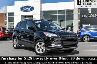 Used 2016 Ford Escape SE 4WD - BLUETOOTH - REAR PARKING AID SENSORS for sale in Ottawa, ON