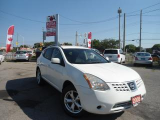 Used 2008 Nissan Rogue GAS SAVER  4 CYLINDER 5 passengers, AUX, NO RUST, for sale in Oakville, ON