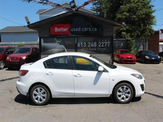 Used 2010 Mazda MAZDA3 GX SEDAN WITH A/C for sale in Ottawa, ON