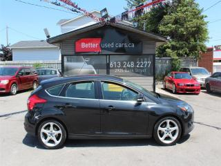 Used 2013 Ford Focus Titanium Hatchback for sale in Ottawa, ON