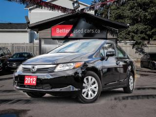 Used 2012 Honda Civic LX Sedan for sale in Ottawa, ON