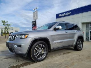 Used 2017 Jeep Grand Cherokee LTD NAV/LEATHER/PANOROOF/HEATEDSEATS/BACKUPCAM for sale in Edmonton, AB
