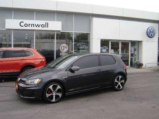 Used 2015 Volkswagen Golf GTI Autobahn 2dr FWD Hatchback for sale in Cornwall, ON