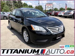 Used 2015 Nissan Sentra SV-GPS-Camera-Sunroof-Heated Seats-One Owner-ECO-- for sale in London, ON