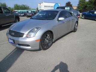 Used 2005 Infiniti G35 SPORT for sale in Hamilton, ON
