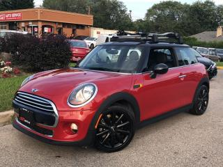 Used 2016 MINI Cooper Hardtop-LEATHER-PANOROOF-NO ACCIDENTS-11KM for sale in Mississauga, ON