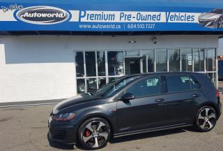 Used 2015 Volkswagen GTI *Autobahn package, Fully Loaded, Low Kms* for sale in Langley, BC