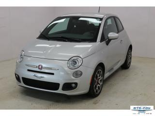 Used 2012 Fiat 500 Sport A/c Mag for sale in Ste-Foy, QC