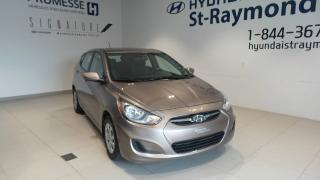 Used 2013 Hyundai Accent Voiture à hayon, 5 portes, boîte automat for sale in St-raymond, QC