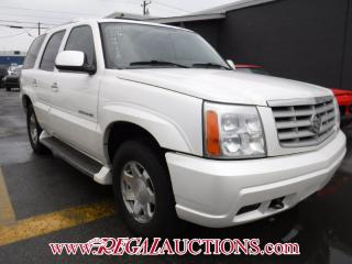 Used 2006 Cadillac Escalade 4D Utility AWD for sale in Calgary, AB