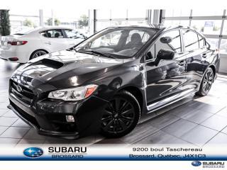Used 2017 Subaru WRX for sale in Brossard, QC