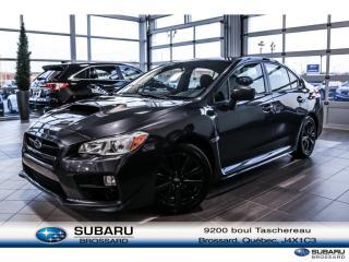Used 2016 Subaru WRX for sale in Brossard, QC
