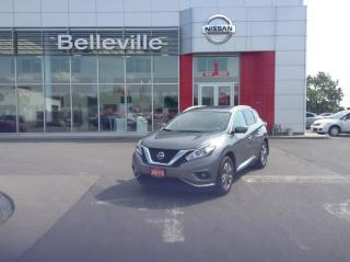 Used 2015 Nissan Murano SL AWD 1 OWNER LOCAL TRADE for sale in Belleville, ON