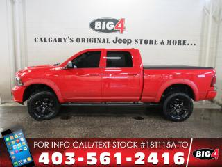 Used 2015 RAM 1500 Sport | Lift | 3.92 gears | Sunroof for sale in Calgary, AB