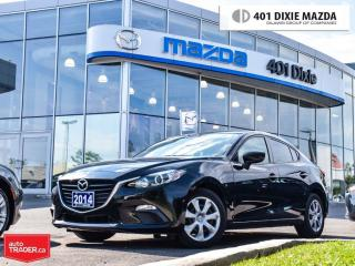Used 2014 Mazda MAZDA3 GX-SKY,NOACCIDENTS,ONE OWNER,1.9 FINANCE AVAILABLE for sale in Mississauga, ON