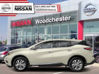 New 2018 Nissan Murano FWD S  - Cloth Interior - $206.19 B/W for sale in Mississauga, ON