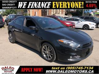 Used 2013 Dodge Dart SXT  REAR CAM  NAVIGATION   TWO-TONE RED INTERIOR for sale in Hamilton, ON