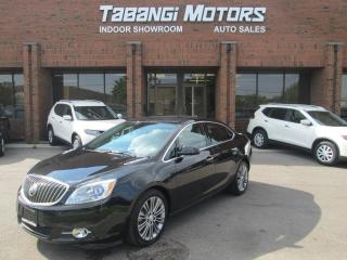 Used 2013 Buick Verano T  | LEATHER | SUNROOF | NAVIGATION | TURBO | REAR CAMERA for sale in Mississauga, ON