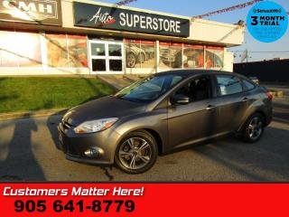 Used 2014 Ford Focus SE  MANUAL HEATED SEATS BLUETOOTH ALLOYS for sale in St. Catharines, ON