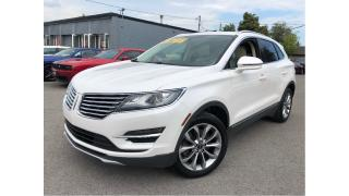 Used 2015 Lincoln MKC AWD GLASS ROOF PEARL WHITE LEATHER TRIM for sale in St Catharines, ON