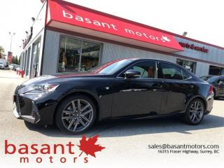 Used 2017 Lexus IS 200t FSport, Heated/Vented Seats, Blindspot, Backup Cam for sale in Surrey, BC