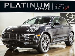 Used 2017 Porsche Macan Macan S, NAV, PANO, Premium PLUS, Turbo Wheels for sale in Toronto, ON