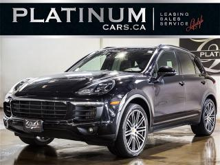 Used 2015 Porsche Cayenne DIESEL, NAVI, PANO, Heated SEAT, Clean Carproof for sale in Toronto, ON