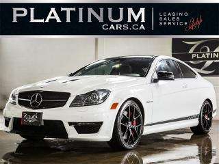 Used 2015 Mercedes-Benz C63 AMG COUPE, 507 EDITION, NAVI, CAM for sale in Toronto, ON
