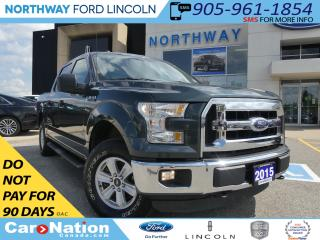Used 2015 Ford F-150 XLT | TONNEAU COVER | 4X4 | RUNNING BOARDS | for sale in Brantford, ON
