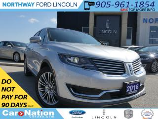 Used 2016 Lincoln MKX Reserve | NAV | REAR CAM | PANO ROOF | TOW PKG | for sale in Brantford, ON