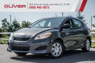 Used 2010 Toyota Matrix A/C for sale in St-Hubert, QC