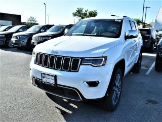 Used 2018 Jeep Grand Cherokee Limited NAVI/FULL SUNROOF/BLIND SPOT DETECTION for sale in Concord, ON
