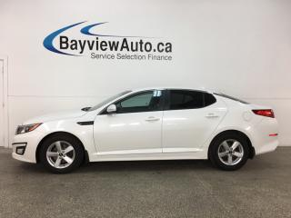 Used 2014 Kia Optima LX - ALLOYS! TINT! HTD SEATS! BLUETOOTH! CRUISE! for sale in Belleville, ON