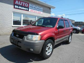 Used 2001 Ford Escape XLT 4X4 for sale in Saint-hubert, QC