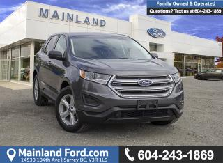 New 2018 Ford Edge SE for sale in Surrey, BC