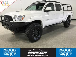 Used 2014 Toyota Tacoma V6 ICON SUSPENSION LIFT, UPGRADED CONTROL ARMS, REARVIEW CAMERA for sale in Calgary, AB