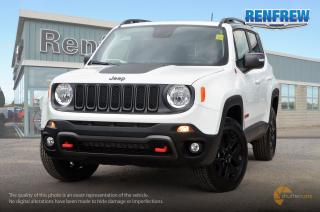 New 2018 Jeep Renegade 2018 Jeep Renegade Trailhawk 4x4 SUV for sale in Renfrew, ON