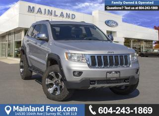 Used 2011 Jeep Grand Cherokee Limited *LOCALLY DRIVEN* for sale in Surrey, BC